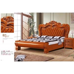 南康林盛家具(橡木床)