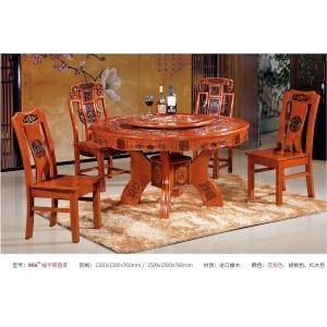 南康轩凯古典家具(餐桌椅)