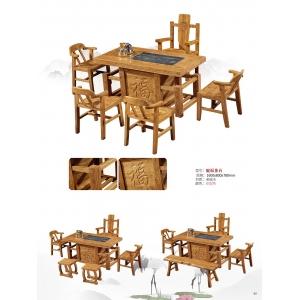 南康轩凯古典家具(茶台椅)