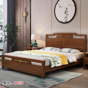 南康狼图新中式家具(实木床)
